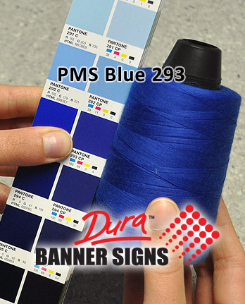 PMS Blue 293 Sewing Color