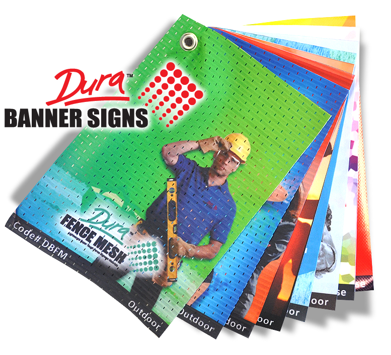 banner making materials - Sample Book